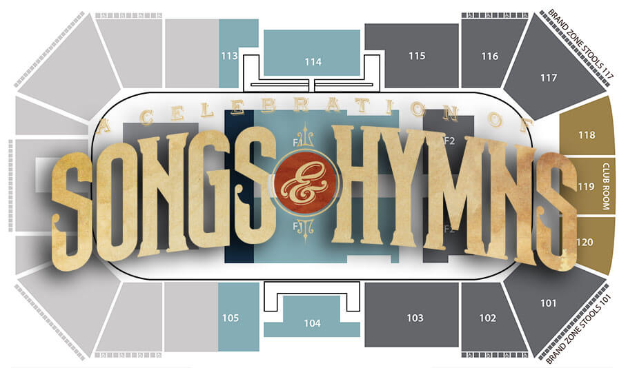 Amy Grant & Michael W. Smith Seating chart