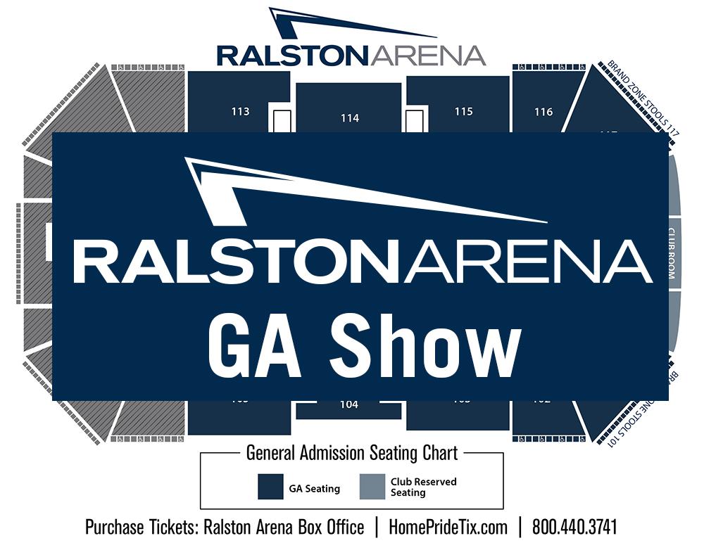 GA Seating Chart